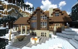 Cozy Minecraft Log cabin Minecraft Map & Project