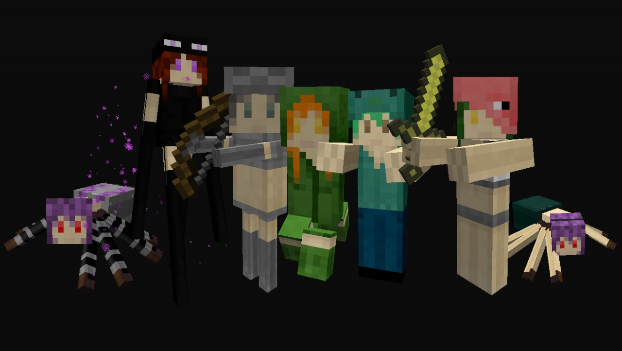 mob talker mobs skin pack mob talker mod minecraft texture pack