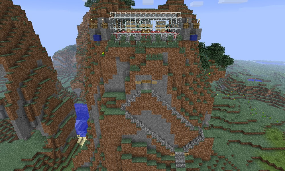 Mountainside Faction Base Minecraft Project