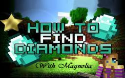 The EASIEST way to find diamonds! Minecraft Map & Project