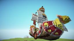 Thousand Sunny Pirate Ship From One Piece