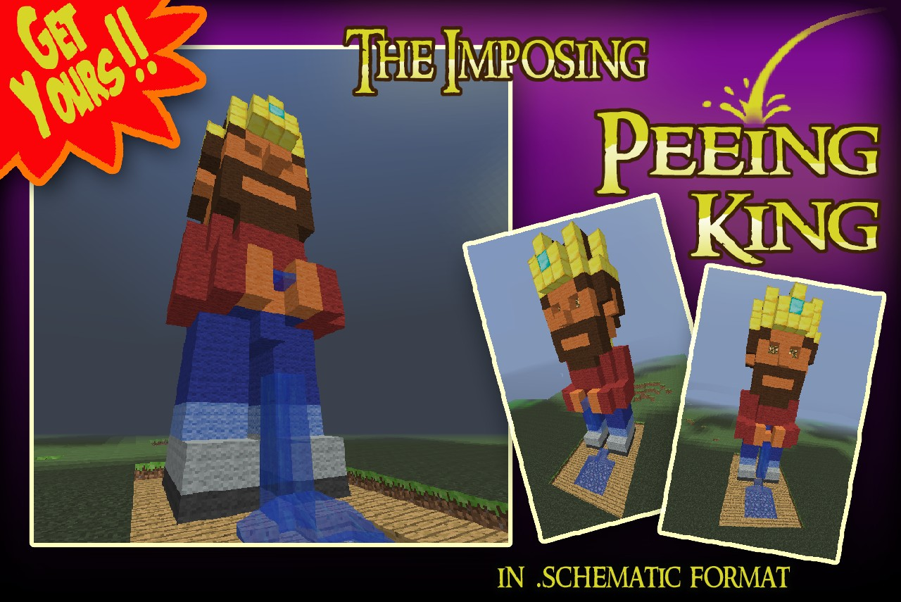 The Great Peeing King Minecraft Project