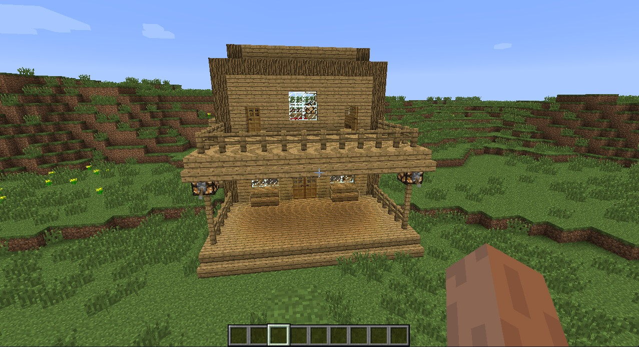 how to make a starter house in minecraft
