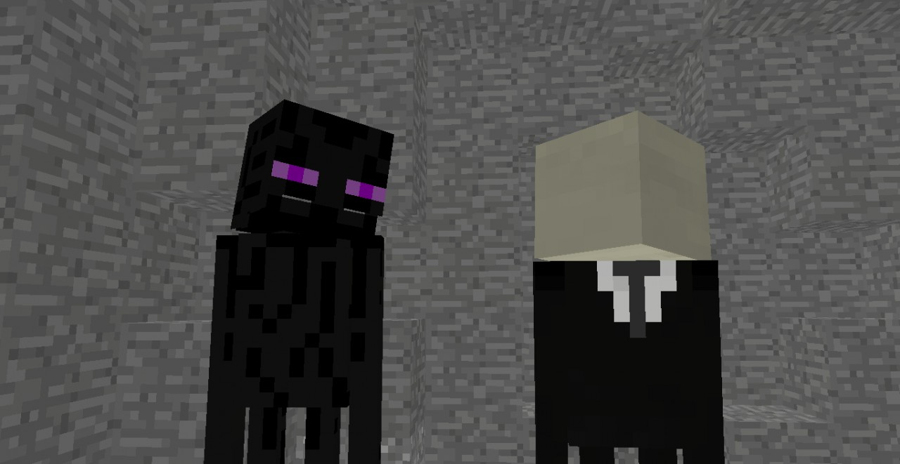 the slenderman and enderman story minecraft blog
