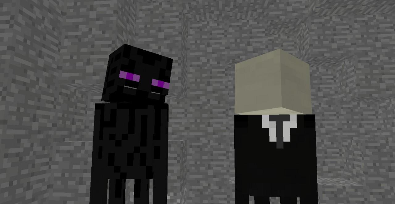 The Slenderman And Enderman Story Minecraft Blog