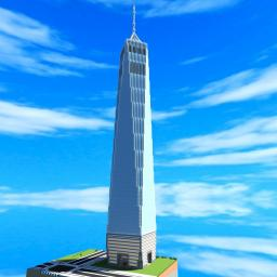 The Freedom Tower 911 memorial one world trade center [New World Trade Center] Minecraft Map & Project