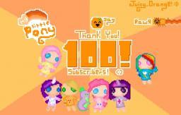 Orange's 100 subs! :D Minecraft Blog Post
