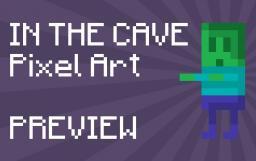 """Pixel Art #1 """"IN THE CAVE"""" [Pixel Art Contest] Minecraft Blog"""