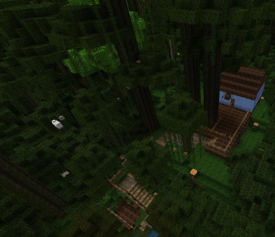 Building #2, Minecraft version
