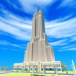 The Empire State Building An Exact Replica! Minecraft Project