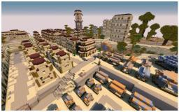 Harenae (Huge Arabian City) Minecraft Map & Project