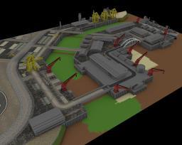 Hafen Los Santos GTA Minecraft