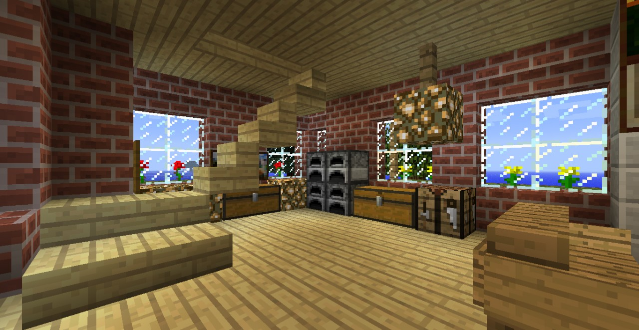 Brick House 1 3 2 World Save Download Minecraft Project