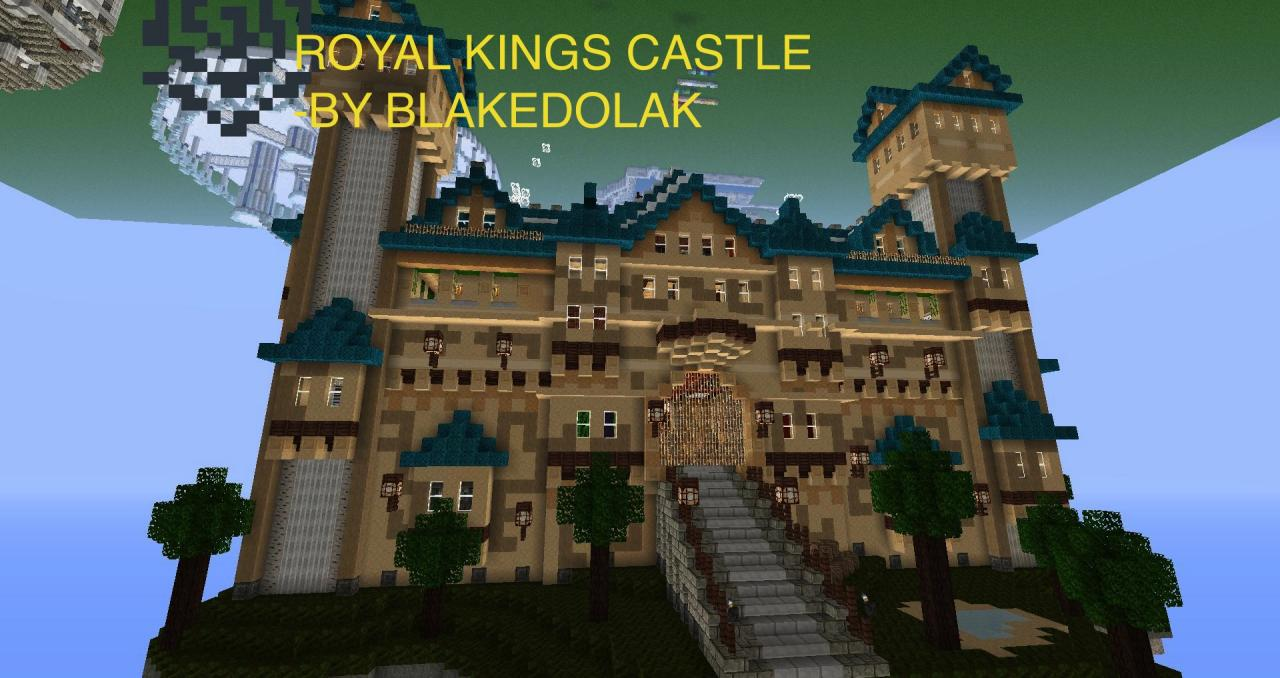 Minecraft Castle Created by