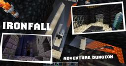 Ironfall: A Resetting Multiplayer Server Dungeon Minecraft Map & Project