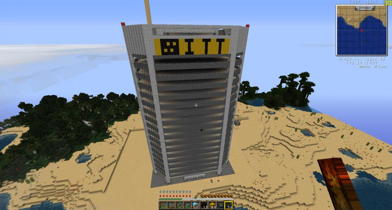Building #1, Minecraft Version