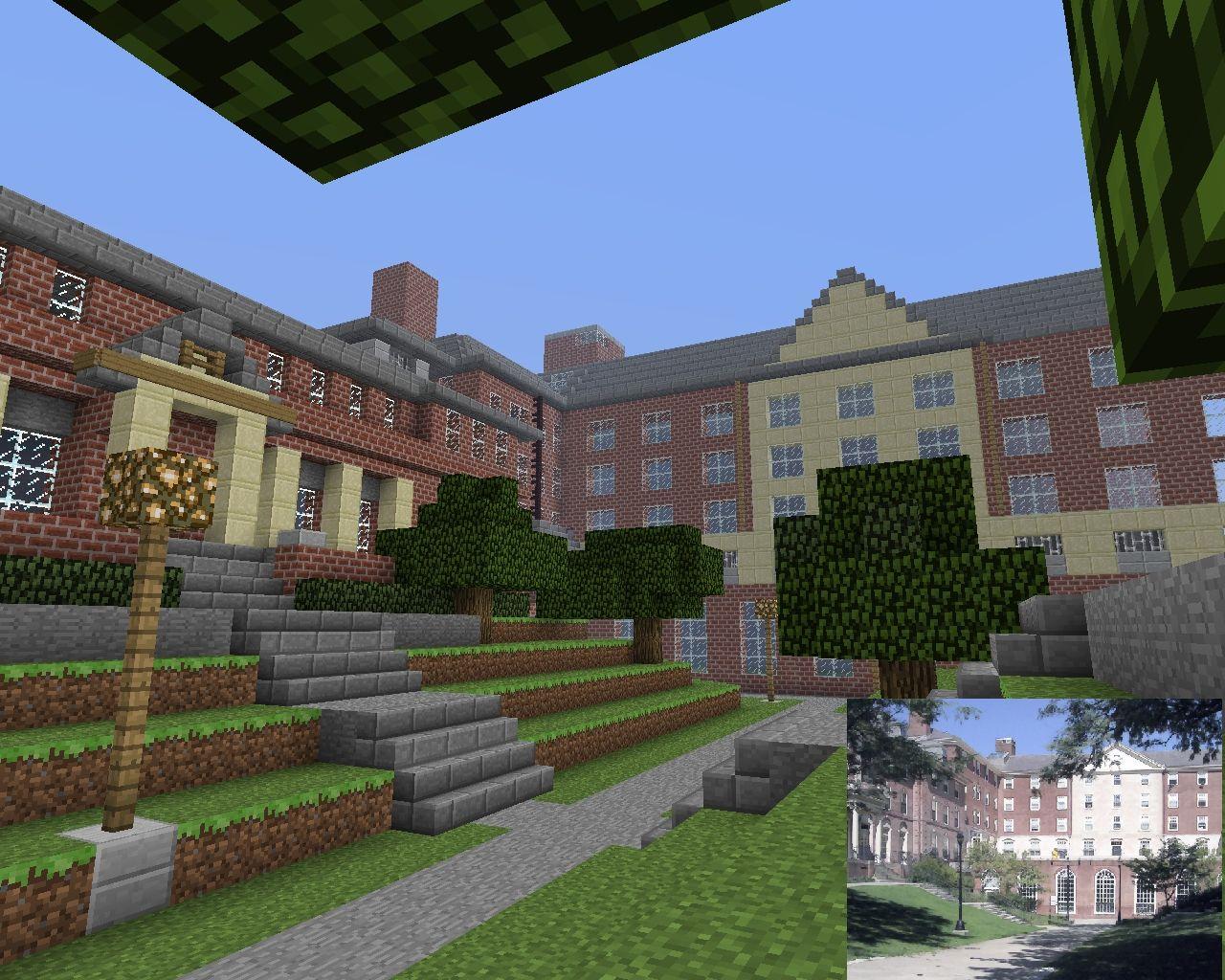 Yamaku Academy Now With World Save Minecraft Project