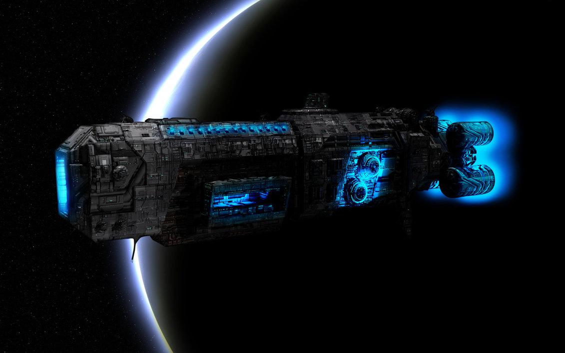 Tekkit spaceship minecraft project