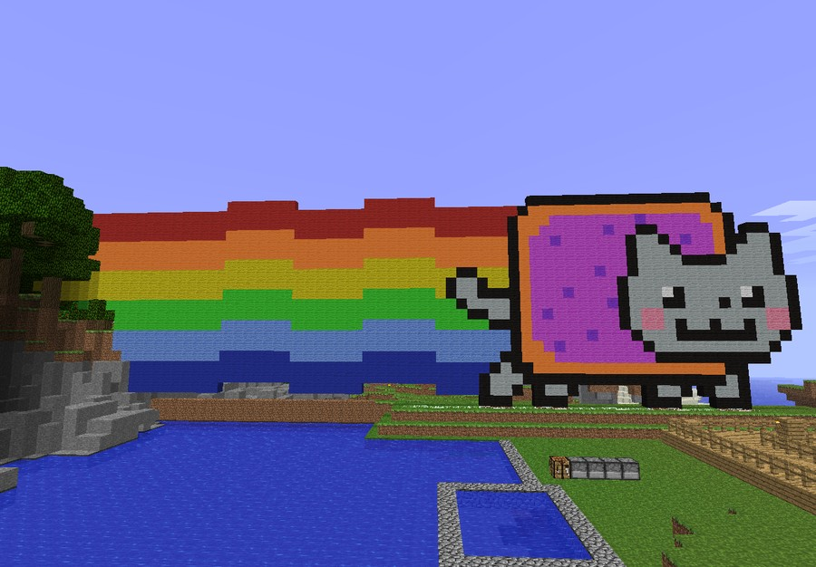 how to make a moving wall in minecraft