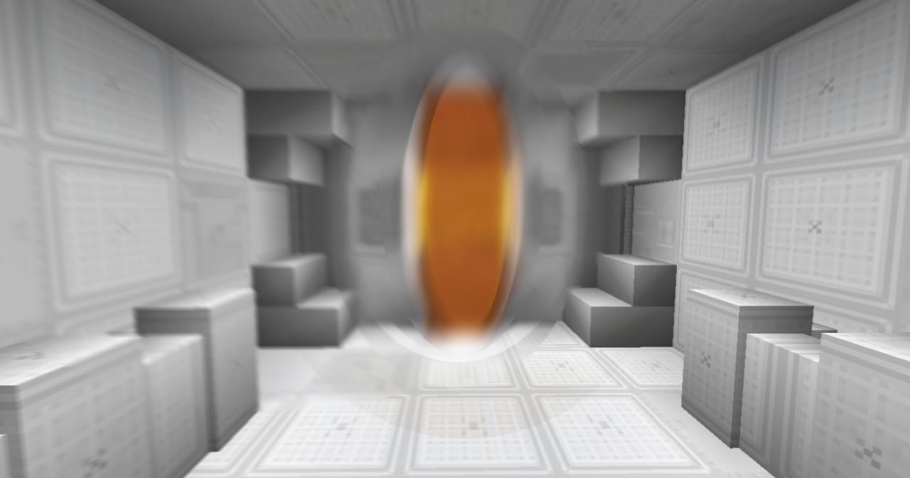Orange edited animated portal (Lava)