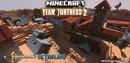 Team Fortress 2: Dustbowl by Hypixel and SethBling Minecraft Project