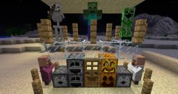 Smiling Blocks and Smiling Monsters Minecraft Texture Pack