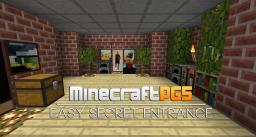 Easy Secret Entrance with Flint & Steel Minecraft Map & Project