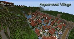 Aspenwood Village Minecraft Map & Project