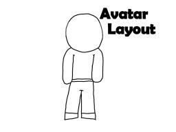 Avatar Layout (make your own avatars!) Minecraft