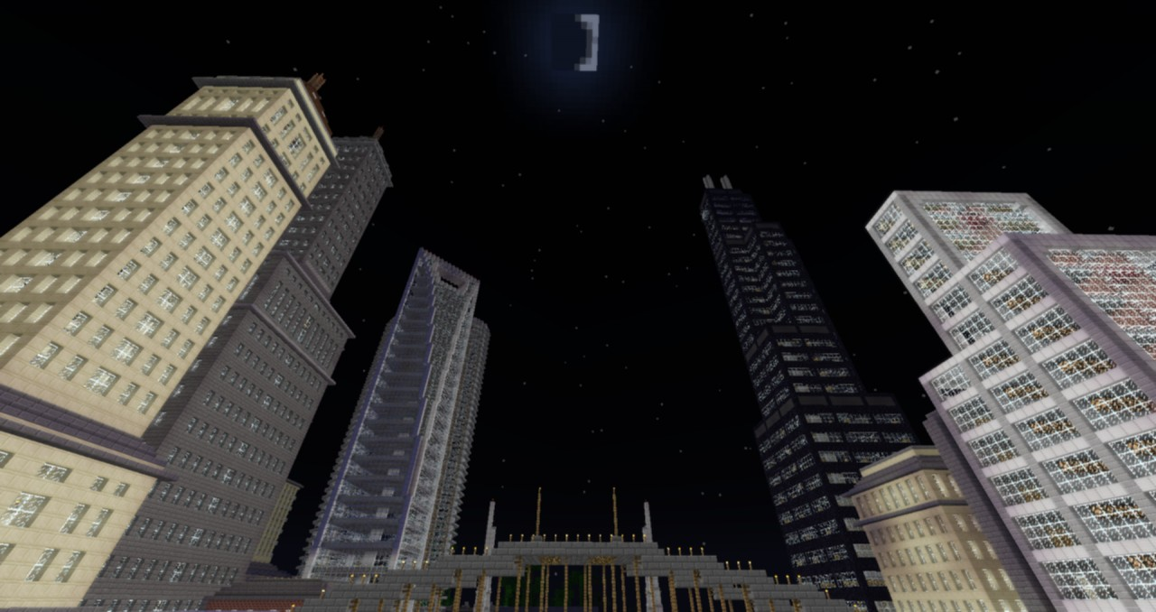 The Willis Tower Sears Tower Chicago Landmark Minecraft Project - Chicago map download