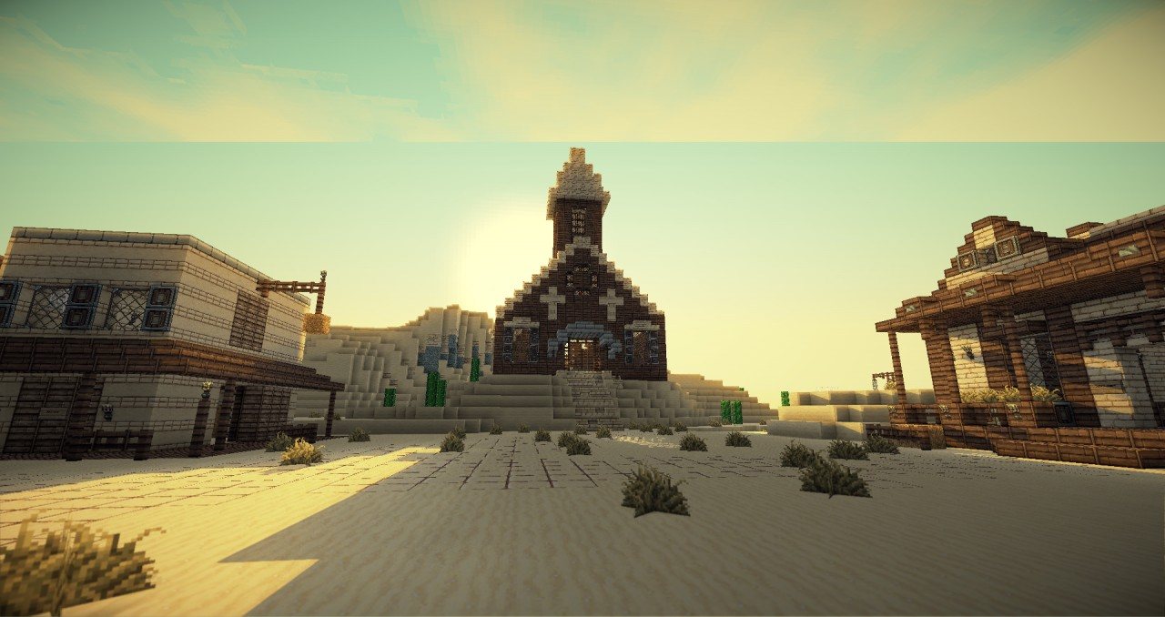 how to make a wild west town in minecraft