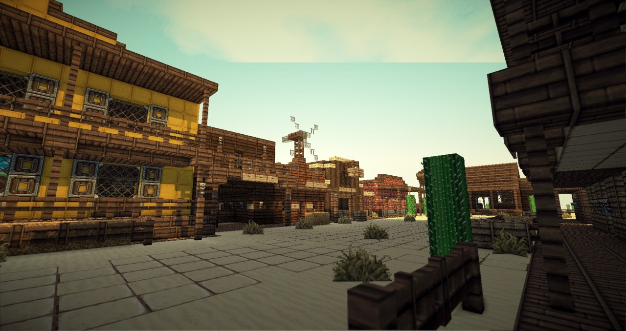 Old Western Town Minec...