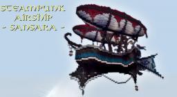 Steampunk Airship - Sansara