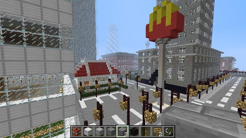 Minecraft Fast Food Map