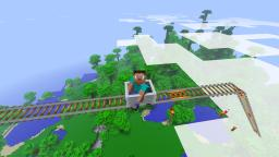 L - Roller Coaster Flying. Minecraft Project