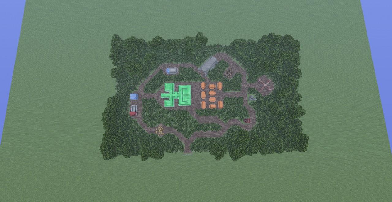 Minecraft Slender Recreation Map