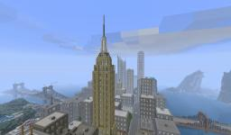Manhattan (New York City) Minecraft Project