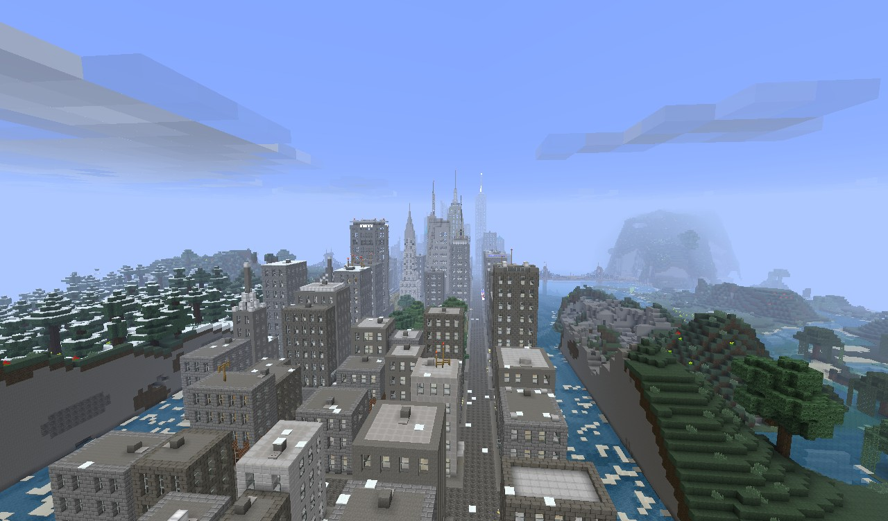 how to build new york in minecraft