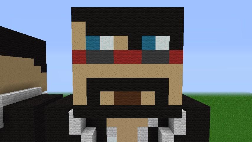 Antvenom and Captainsparklez skin Minecraft Project
