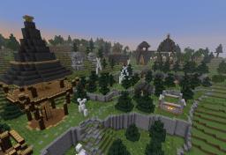 troll village Minecraft