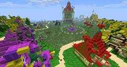 Equestria Survival Games-Ponyville Map v1.0 Minecraft Map & Project