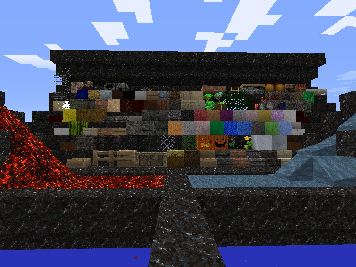 Texture pack Review Map 1.3.2 Minecraft Project