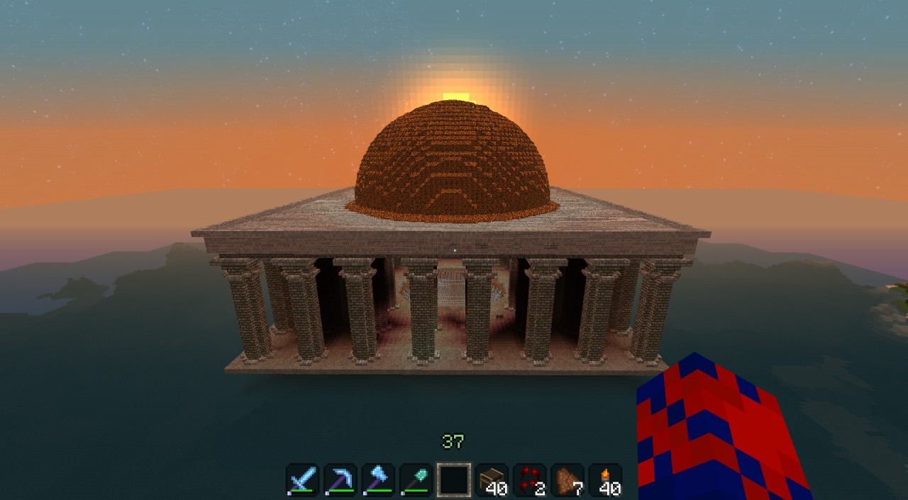 Hades Temple Minecraft Project
