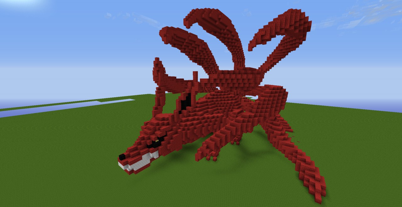 Kyuubi Statue Minecraft Project
