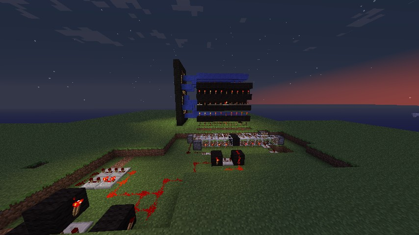 how to make a working clock in minecraft