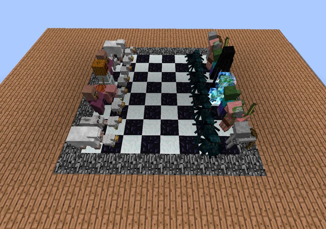 Minecraft Chess Board Minecraft Project