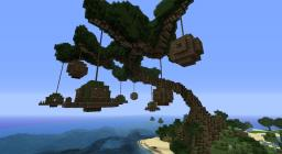 Tree Village Minecraft Map & Project
