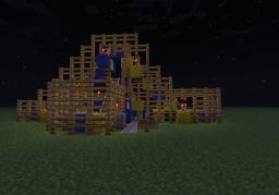 The Glow Worm Carnival Ride Minecraft Map & Project