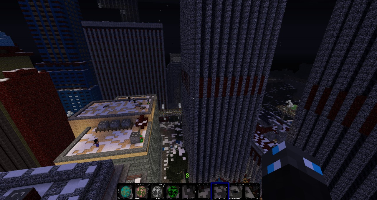 The Texture Pack bieng used in Gotham