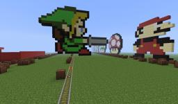 Zelda Music Train Minecraft Map & Project